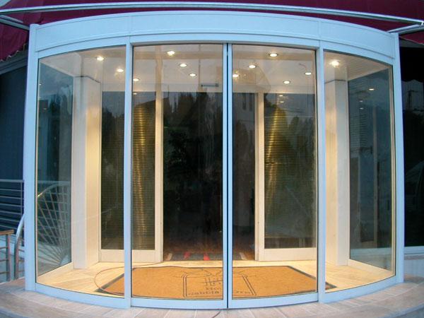 PAP profili per porte - vetro da 22mm – chiusure automatiche