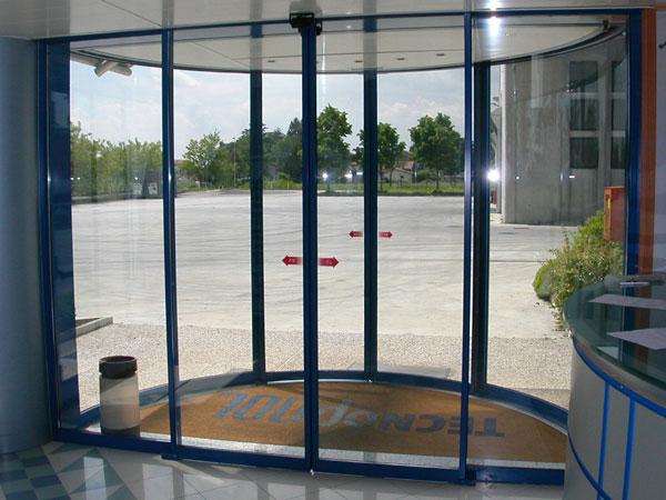 PAP profili per porte - vetro da 22mm – chiusura automatica